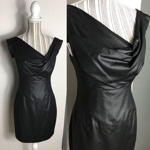 Black Halo Sheath Sleeveless Dress